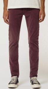 Uniqlo Slim Straight Leg Jeans Burgundy/Maroon 32